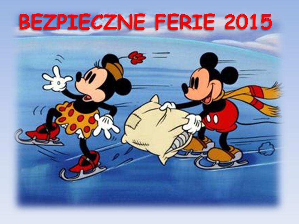 BEZPIECZNE FERIE 2015