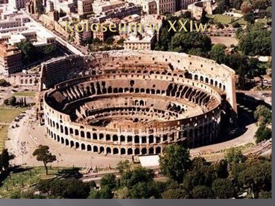 Koloseum w XXIw.