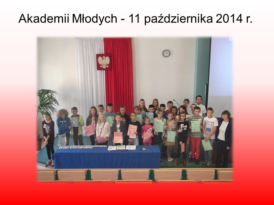 Akademii Młodych - 11 października 2014 r.