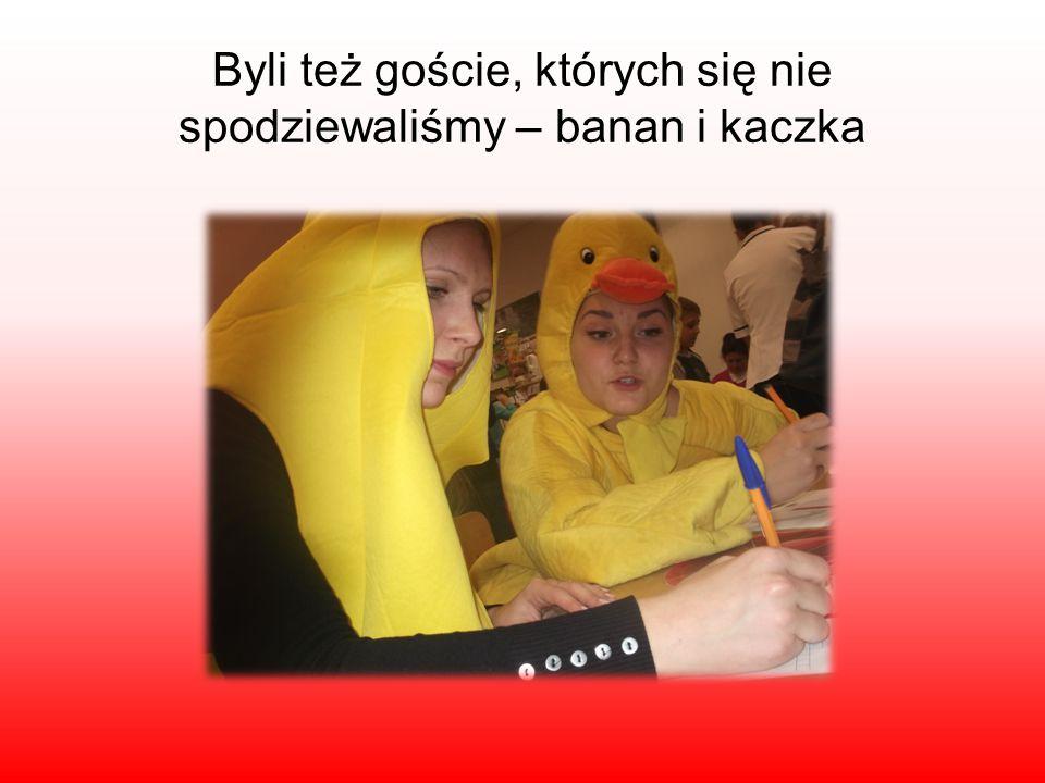 Byli też goście, których się nie spodziewaliśmy – banan i kaczka