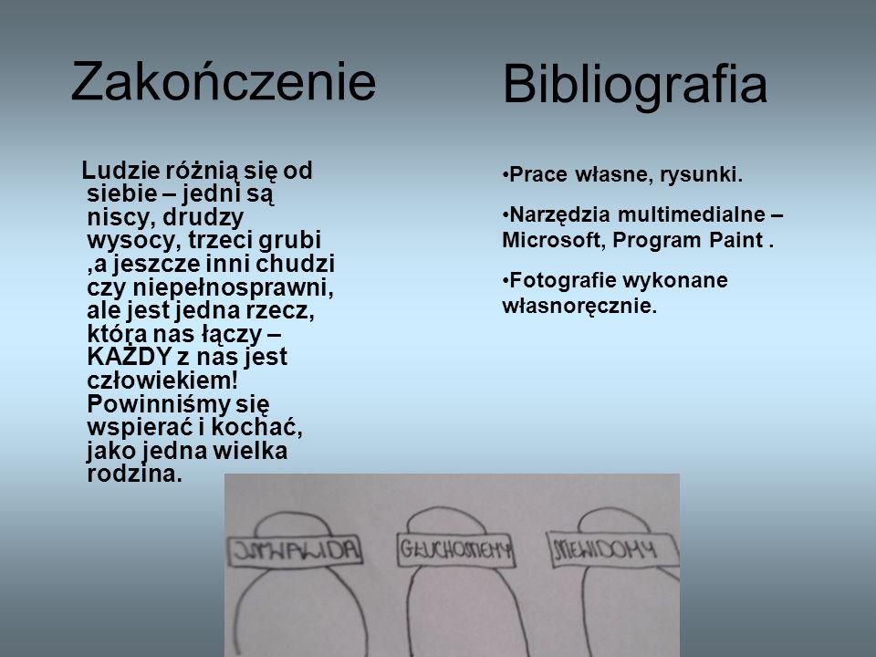 Zakończenie Bibliografia