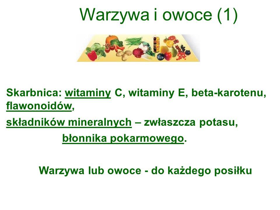 Warzywa lub owoce - do każdego posiłku