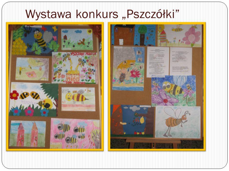"""Wystawa konkurs """"Pszczółki"""