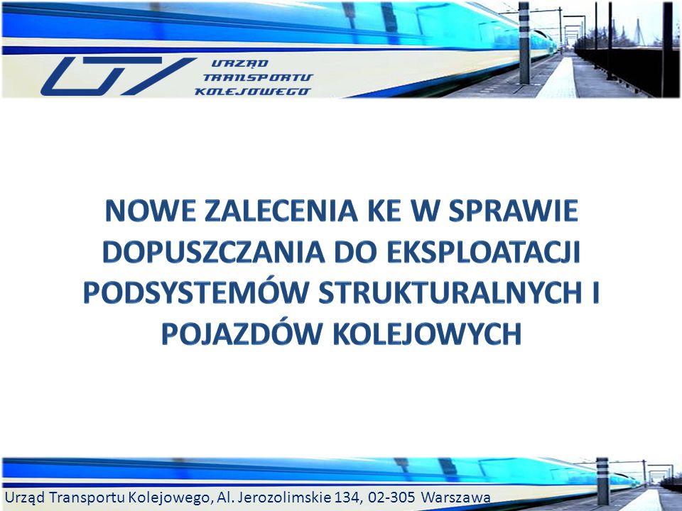 Nowe Zalecenia KE w sprawie dopuszczania do eksploatacji podsystemów strukturalnych i pojazdów kolejowych