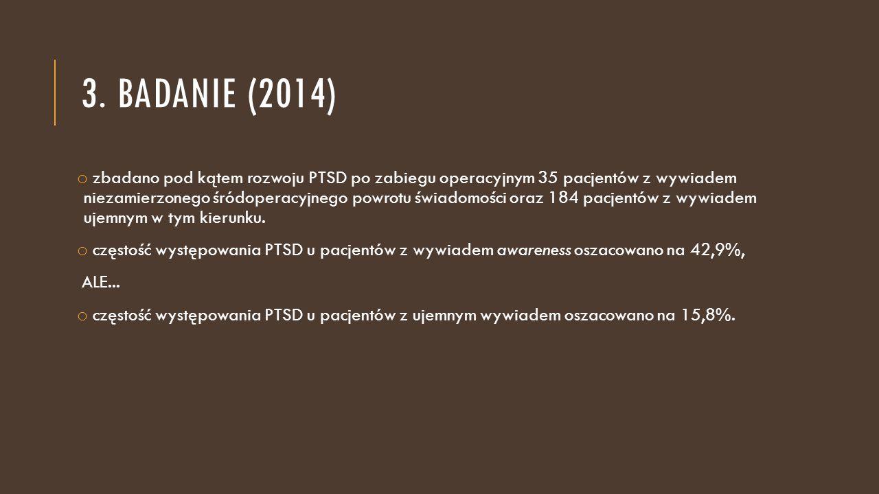 3. badanie (2014)