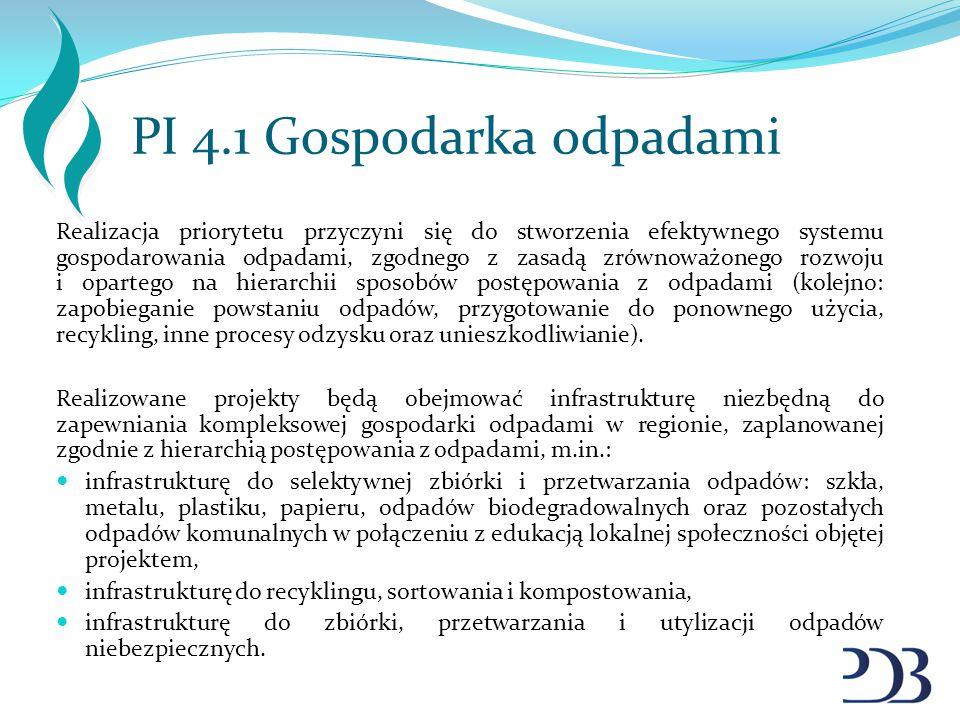 PI 4.1 Gospodarka odpadami