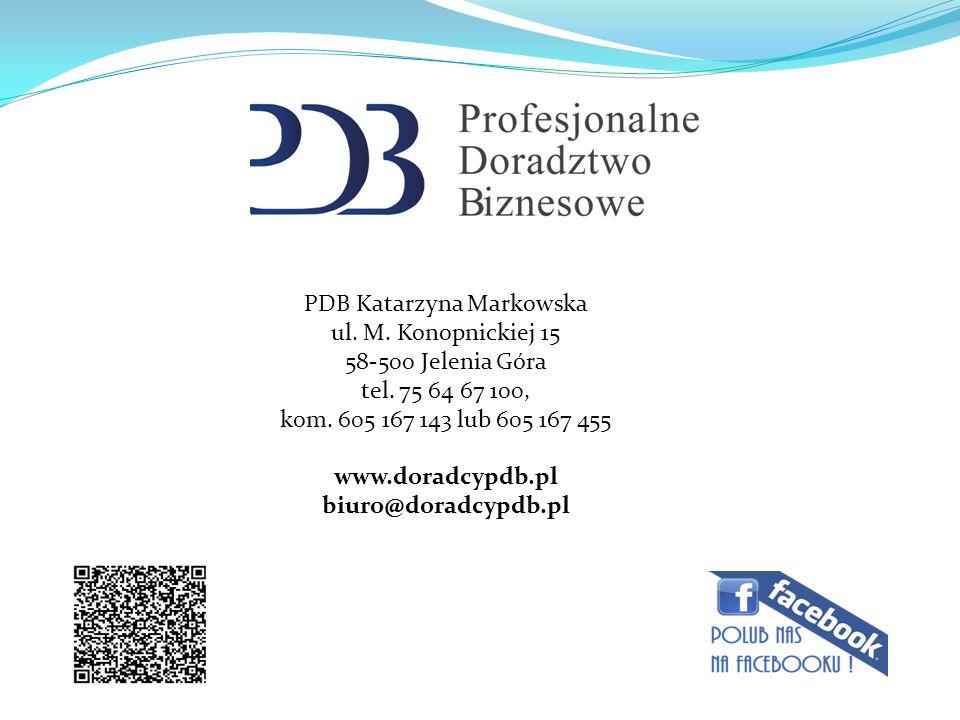PDB Katarzyna Markowska