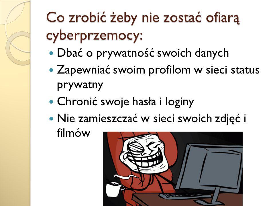 Co zrobić żeby nie zostać ofiarą cyberprzemocy: