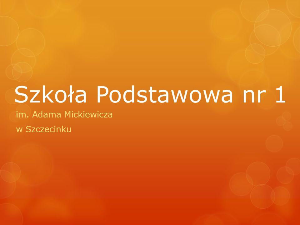 im. Adama Mickiewicza w Szczecinku