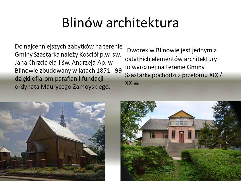 Blinów architektura