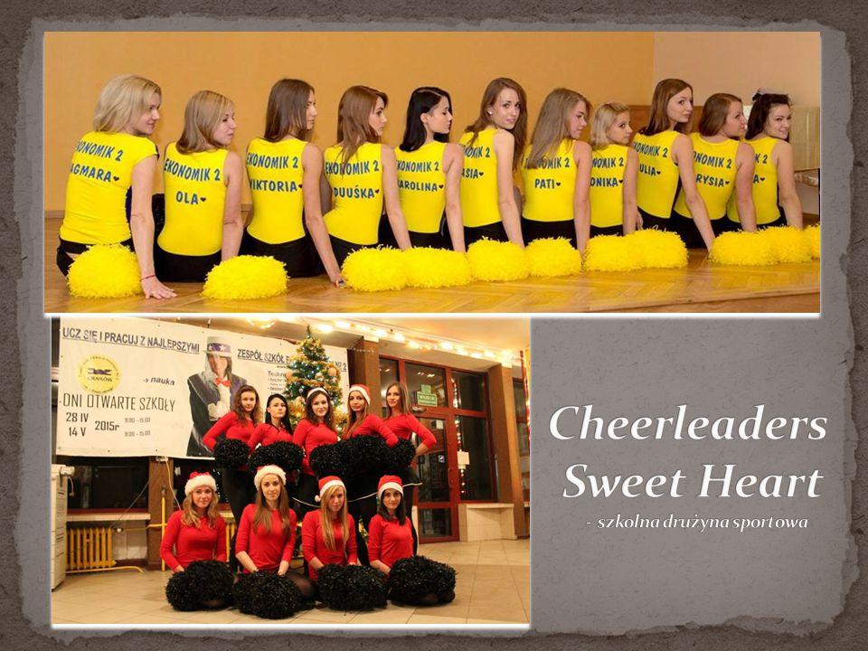 Cheerleaders Sweet Heart - szkolna drużyna sportowa