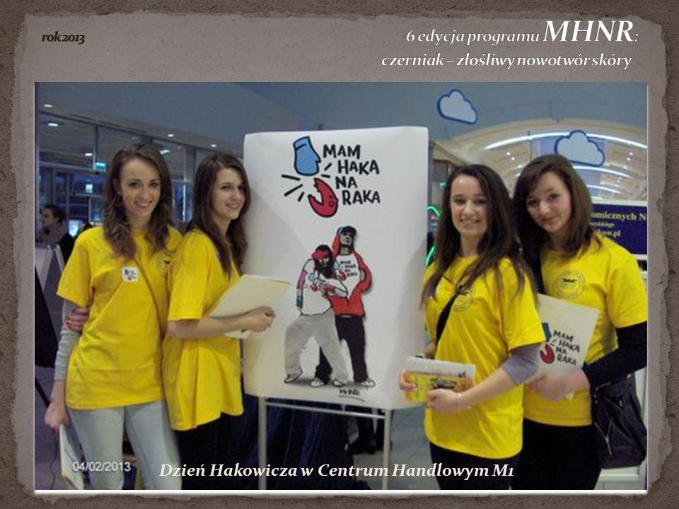 rok 2013 6 edycja programu MHNR: czerniak – złośliwy nowotwór skóry
