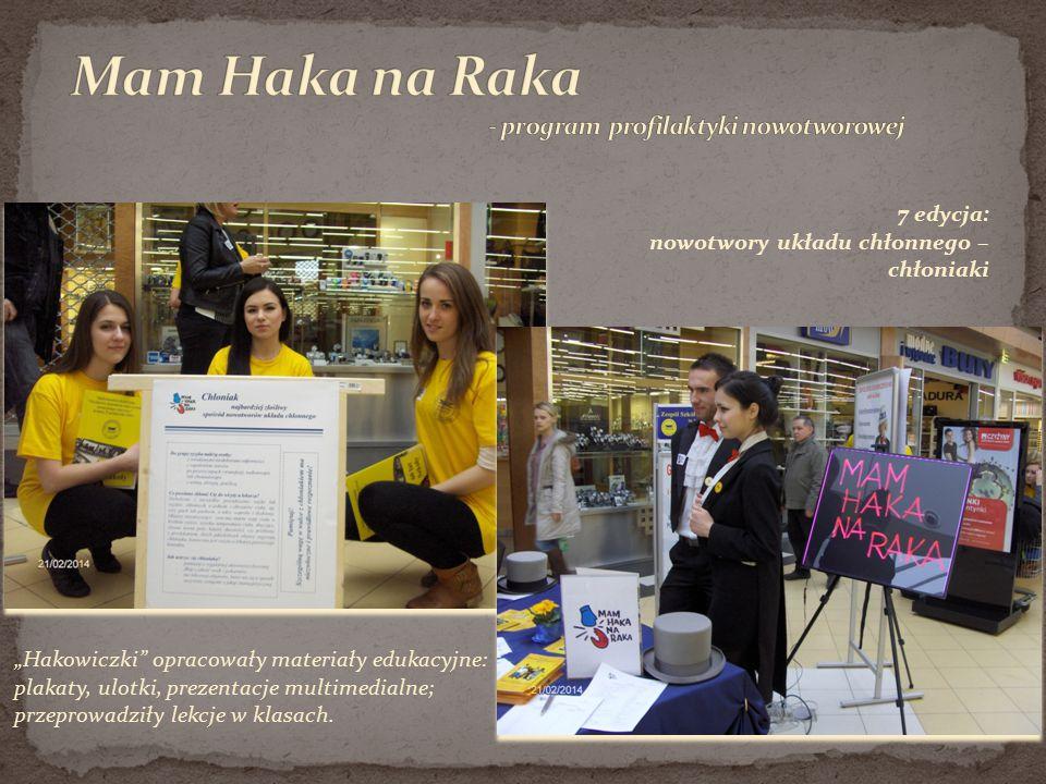 Mam Haka na Raka - program profilaktyki nowotworowej