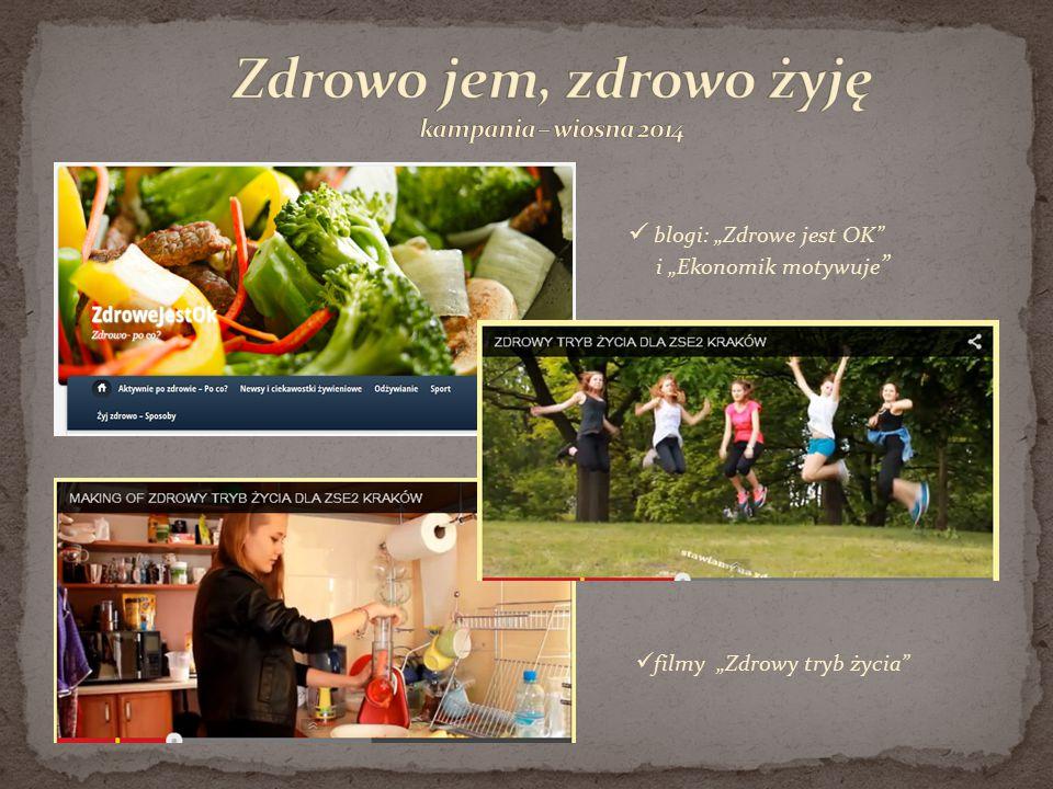 Zdrowo jem, zdrowo żyję kampania – wiosna 2014