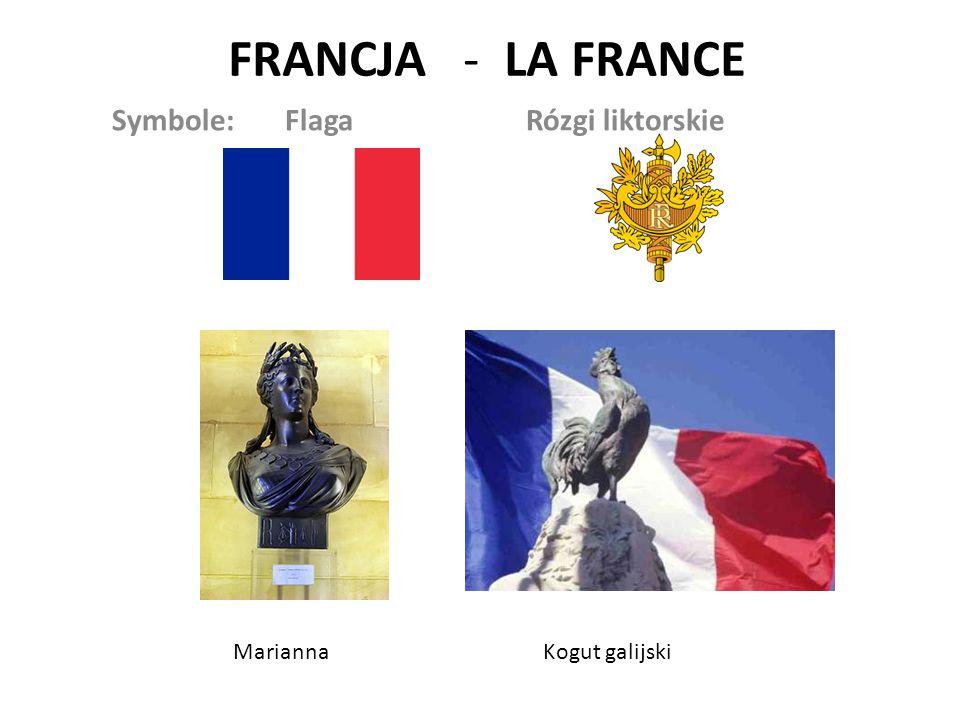Symbole: Flaga Rózgi liktorskie