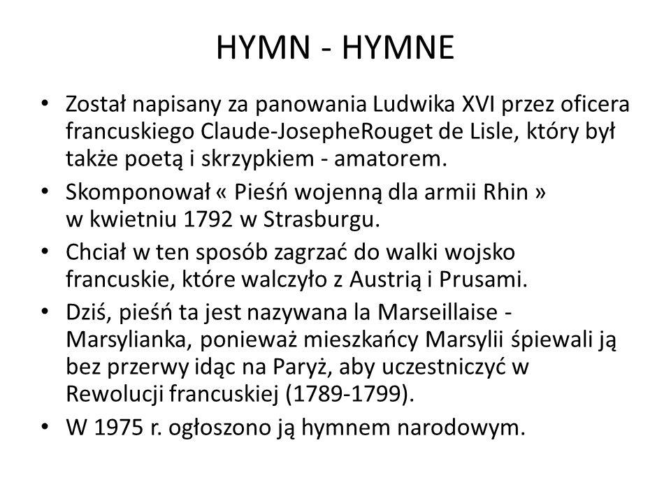 HYMN - HYMNE