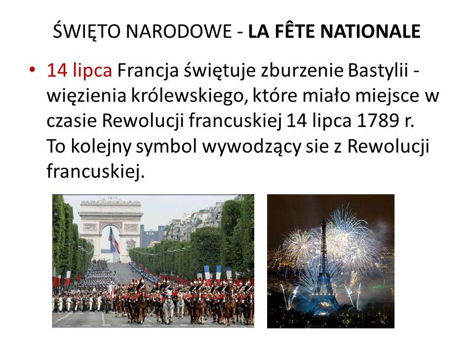 ŚWIĘTO NARODOWE - LA FÊTE NATIONALE