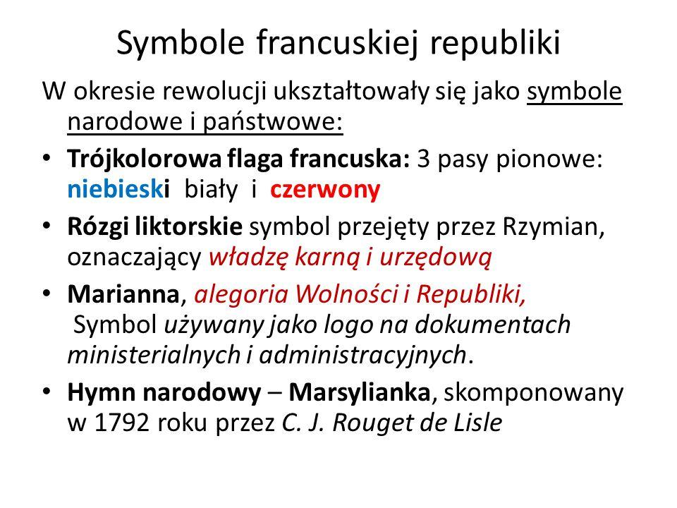Symbole francuskiej republiki