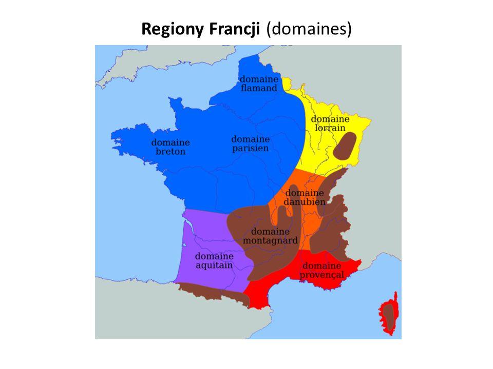 Regiony Francji (domaines)