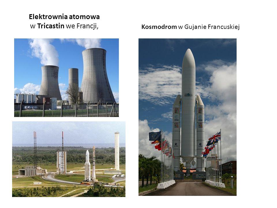 Elektrownia atomowa w Tricastin we Francji,