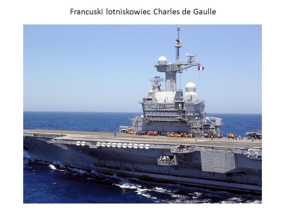 Francuski lotniskowiec Charles de Gaulle