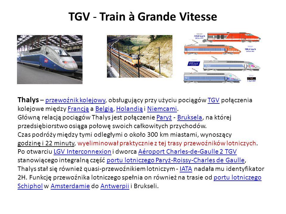 TGV - Train à Grande Vitesse