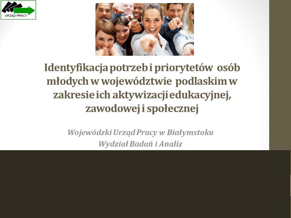 Wojewódzki Urząd Pracy w Białymstoku Wydział Badań i Analiz