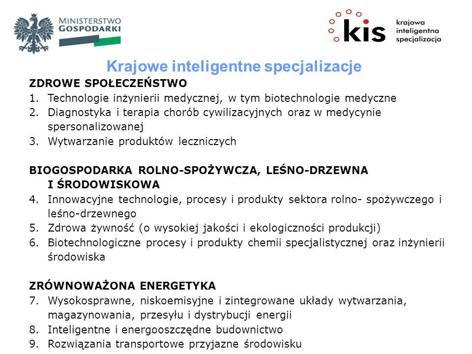 Krajowe inteligentne specjalizacje