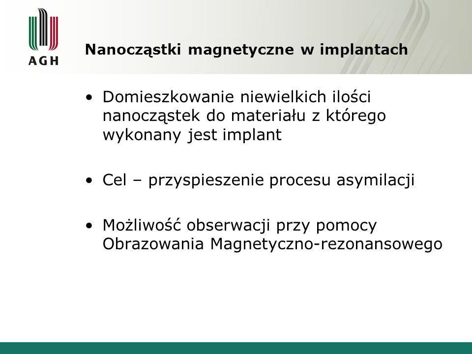 Nanocząstki magnetyczne w implantach
