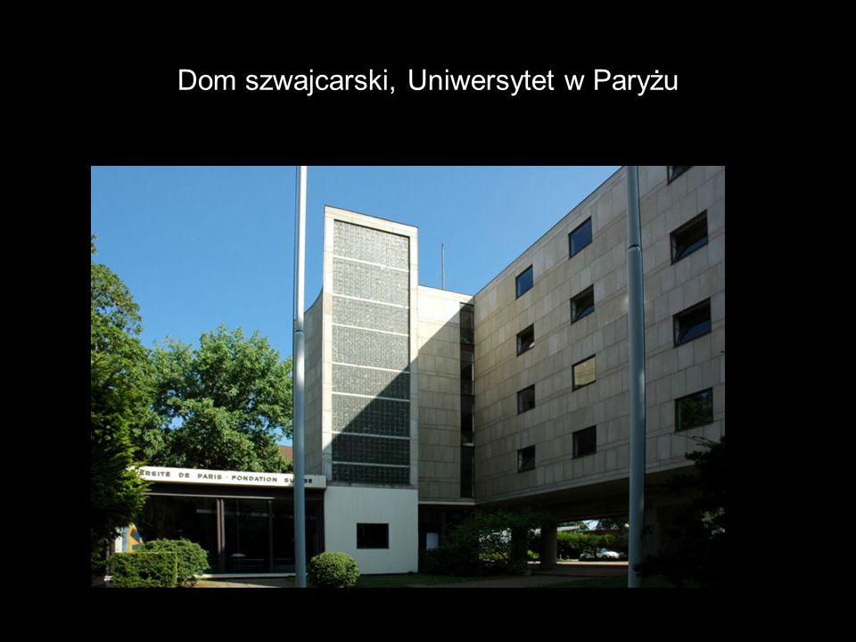 Dom szwajcarski, Uniwersytet w Paryżu