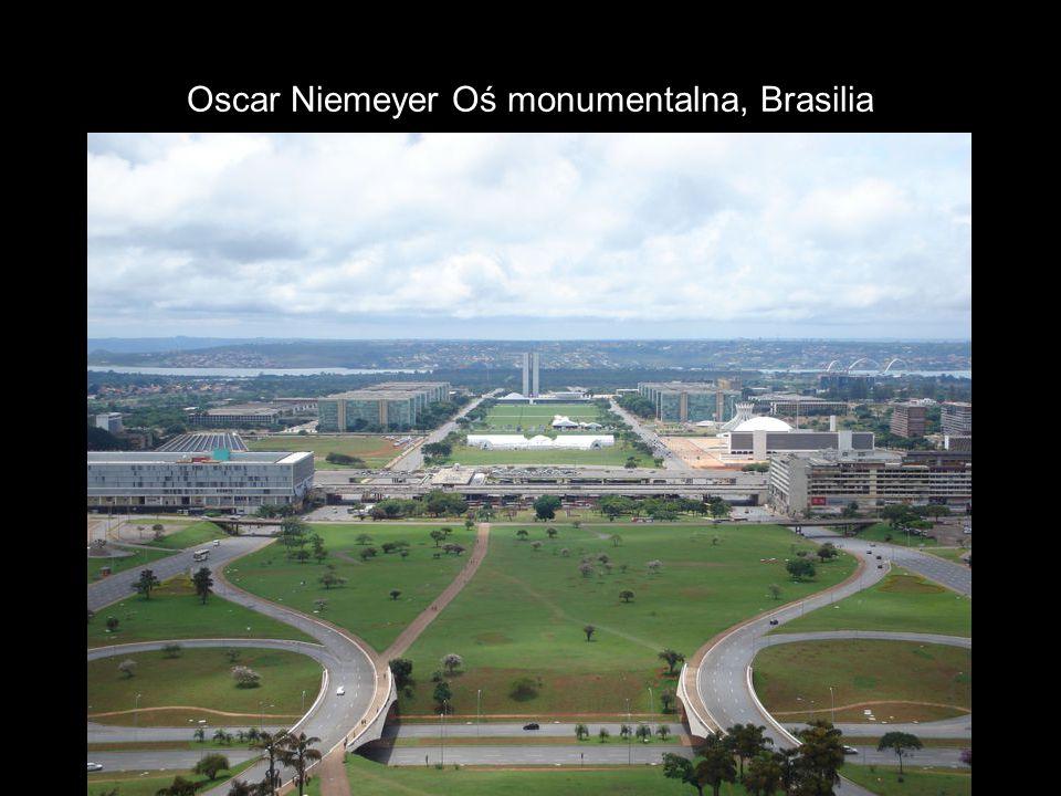 Oscar Niemeyer Oś monumentalna, Brasilia