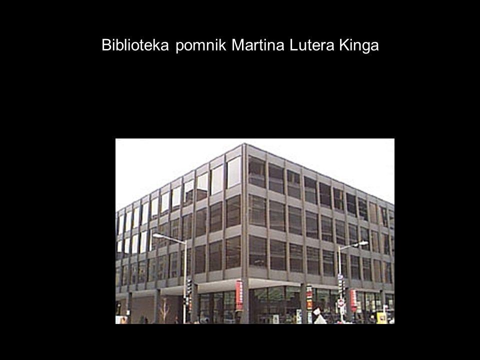 Biblioteka pomnik Martina Lutera Kinga