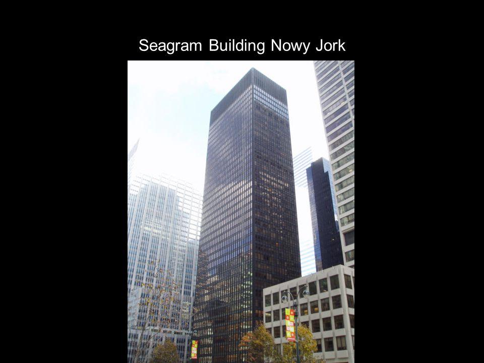 Seagram Building Nowy Jork