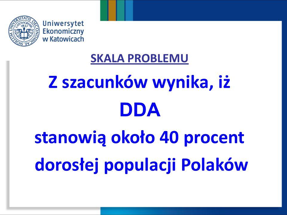 stanowią około 40 procent dorosłej populacji Polaków