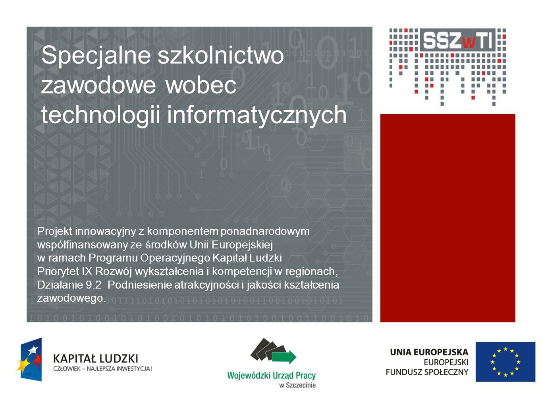 Specjalne szkolnictwo zawodowe wobec technologii informatycznych