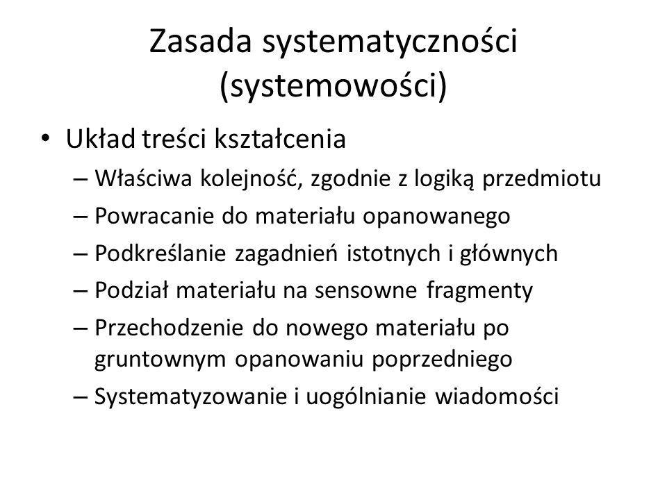 Zasada systematyczności (systemowości)