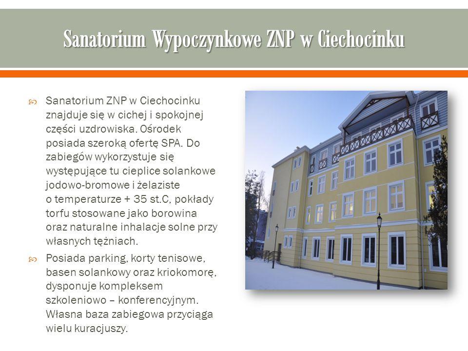 Sanatorium Wypoczynkowe ZNP w Ciechocinku