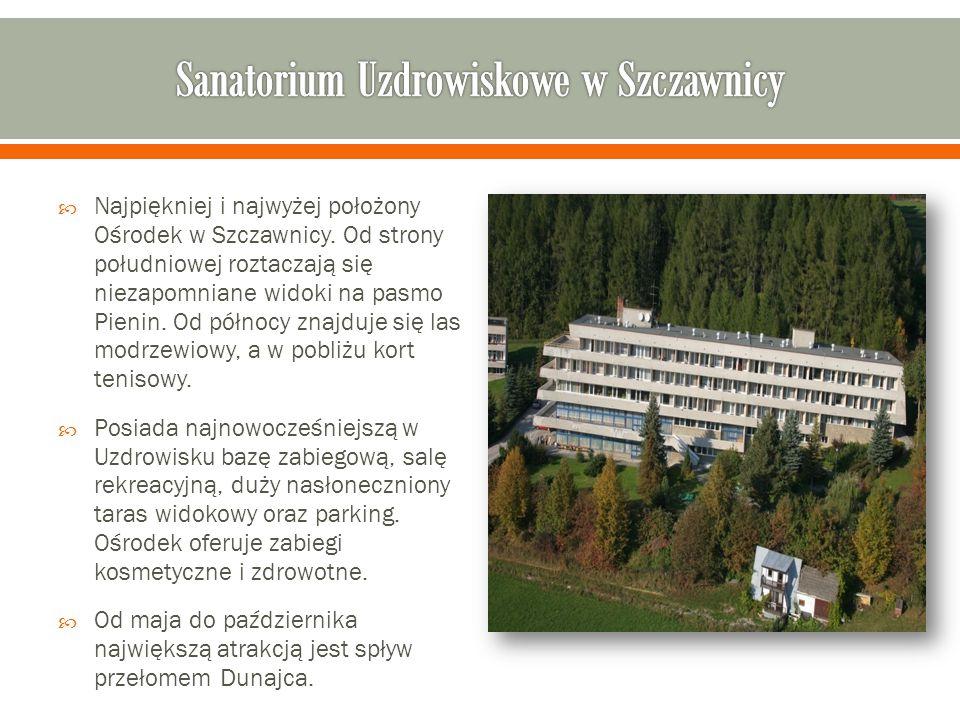 Sanatorium Uzdrowiskowe w Szczawnicy