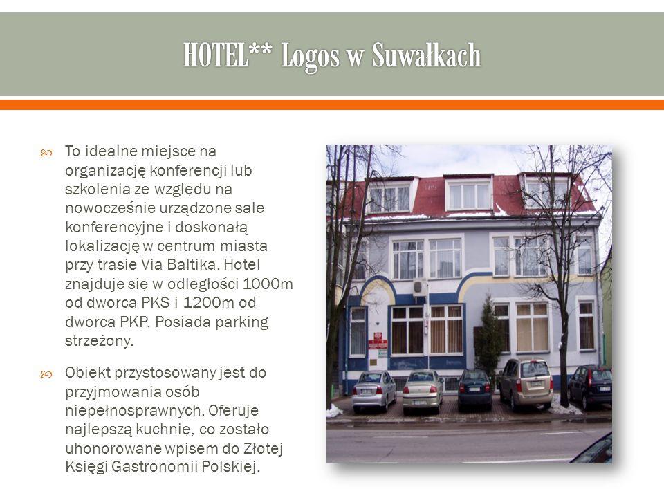 HOTEL** Logos w Suwałkach