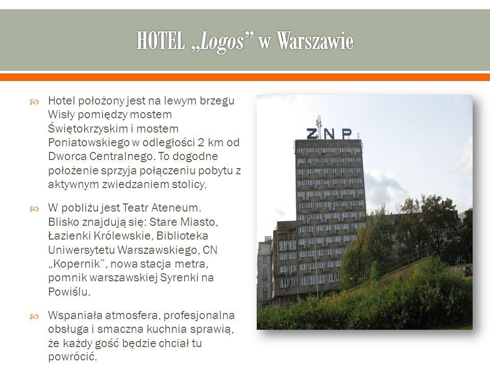 """HOTEL """"Logos w Warszawie"""