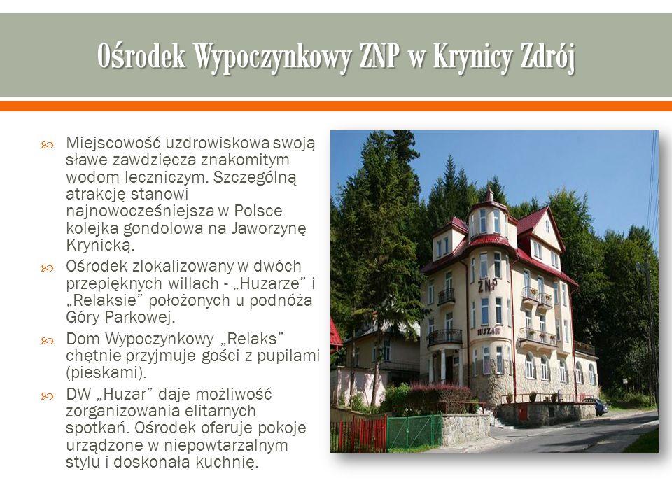 Ośrodek Wypoczynkowy ZNP w Krynicy Zdrój