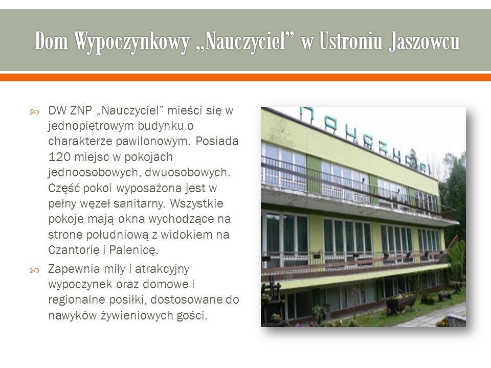 """Dom Wypoczynkowy """"Nauczyciel w Ustroniu Jaszowcu"""