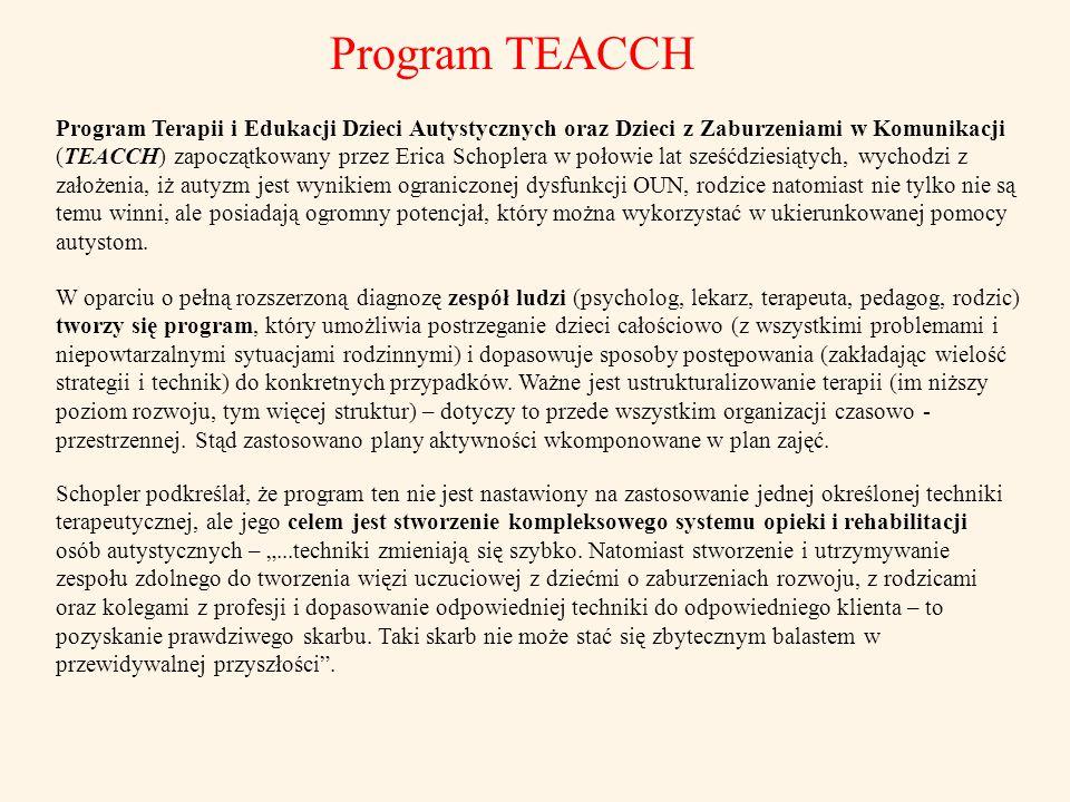 Program TEACCH
