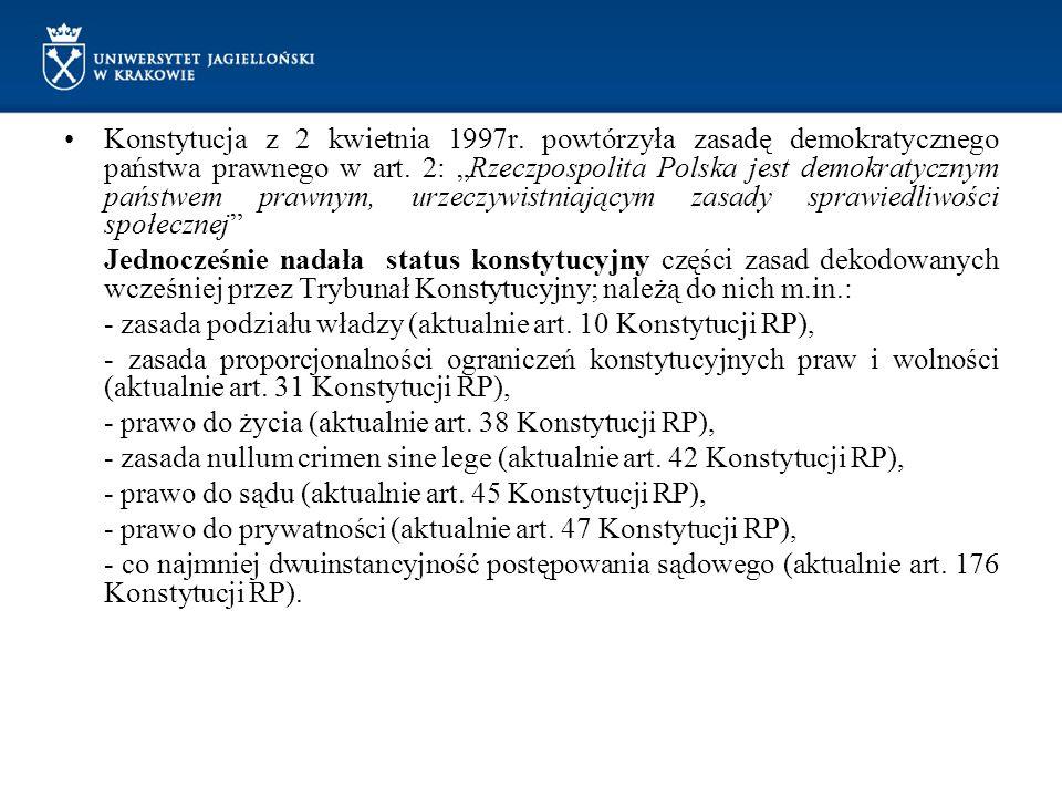 Konstytucja z 2 kwietnia 1997r