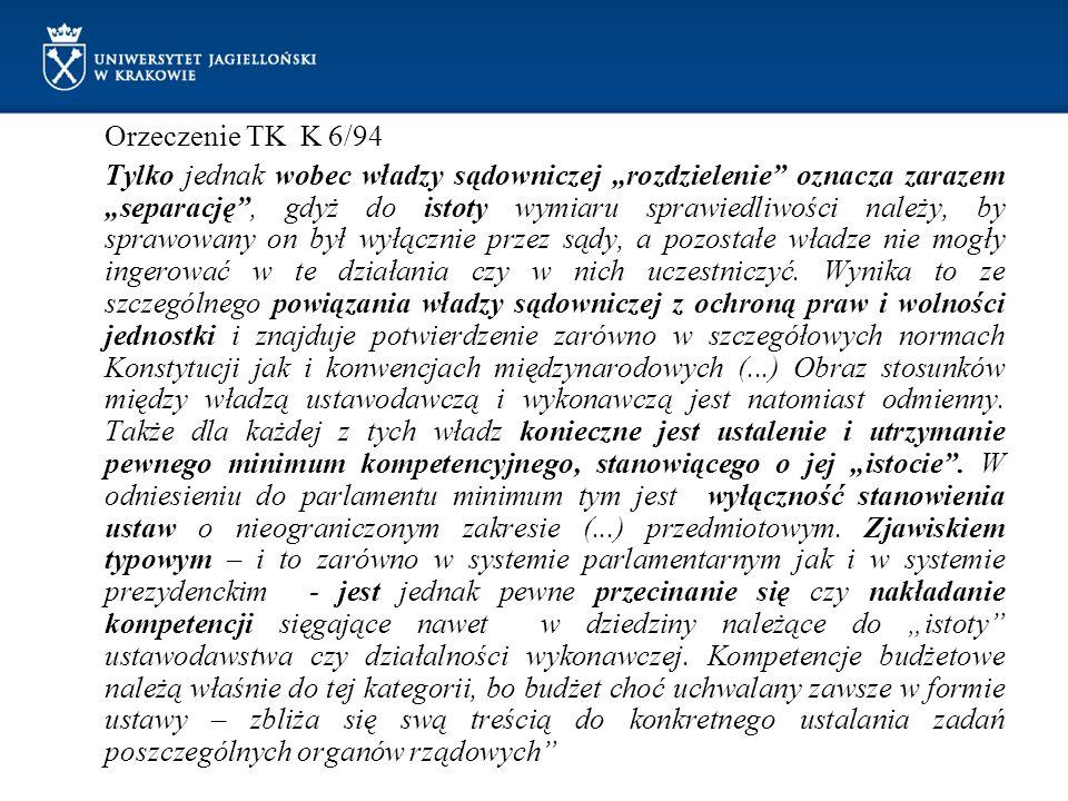 Orzeczenie TK K 6/94