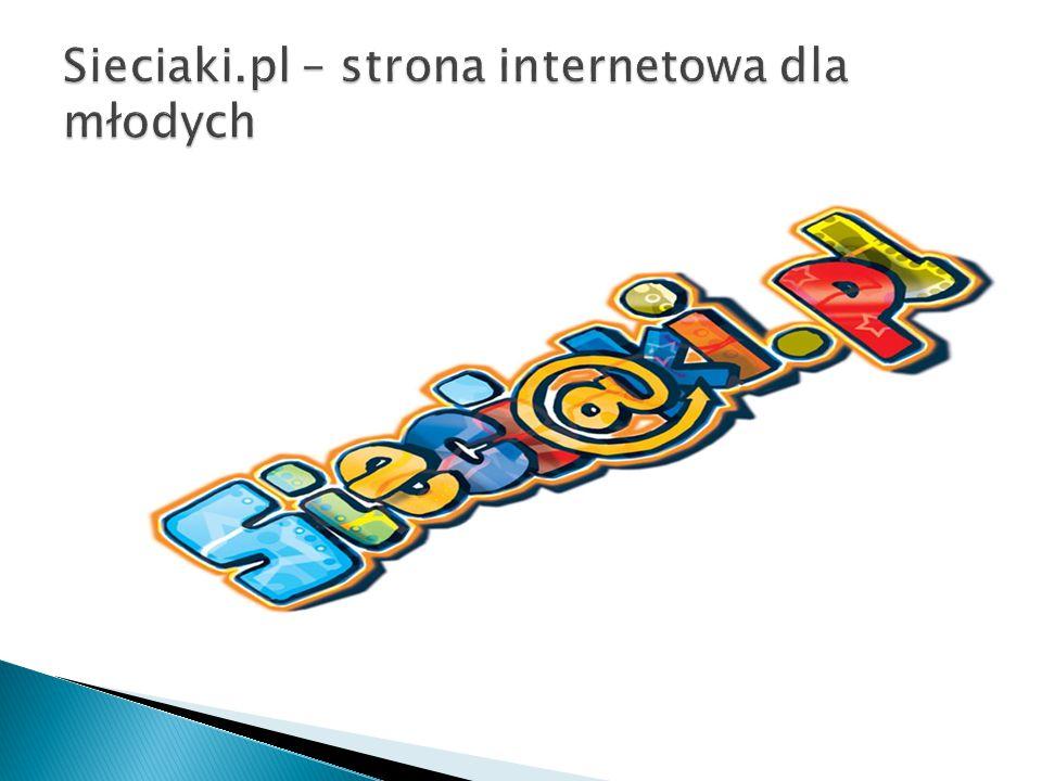Sieciaki.pl – strona internetowa dla młodych