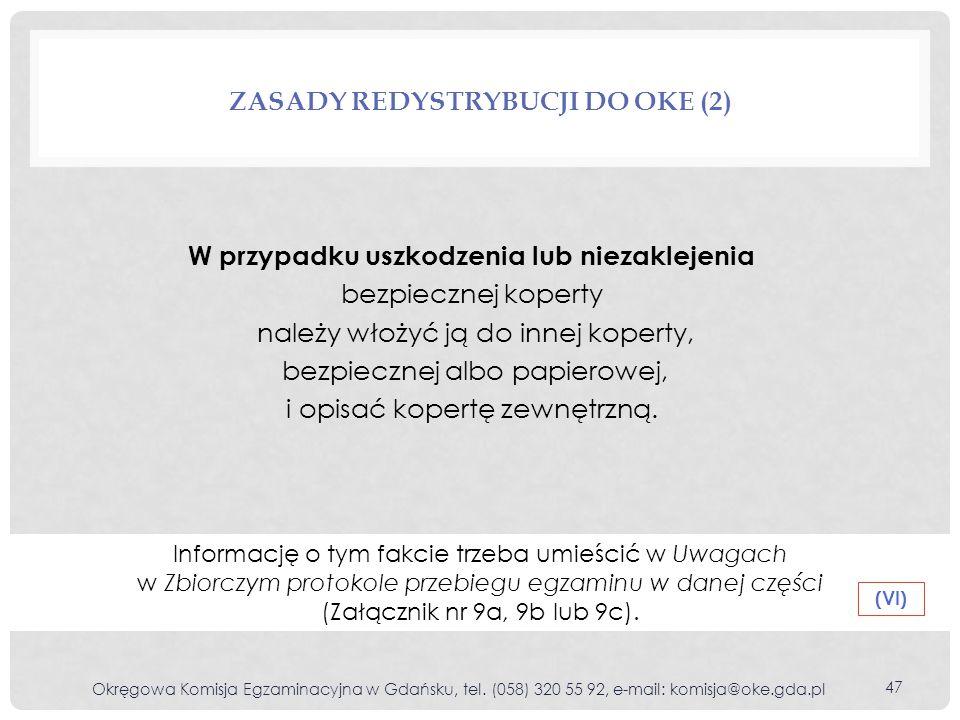 Zasady redystrybucji do oke (2)