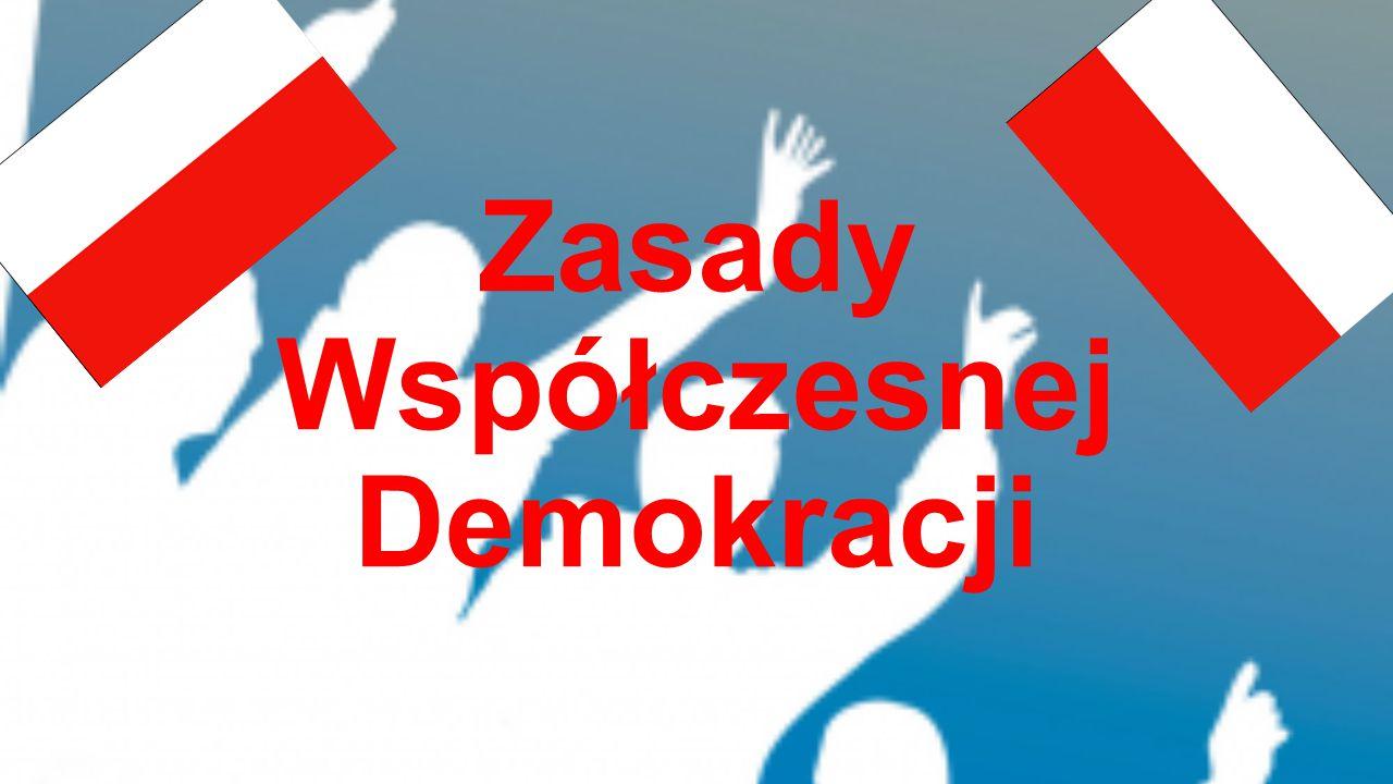 Zasady Współczesnej Demokracji
