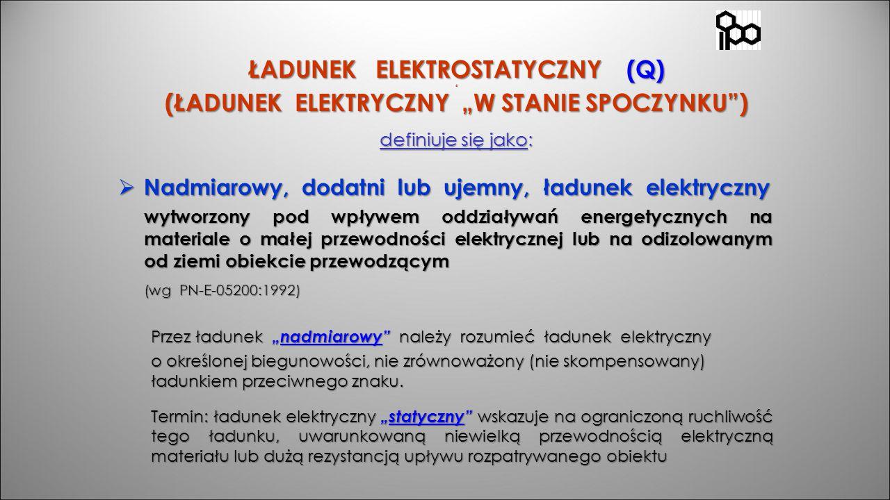 Nadmiarowy, dodatni lub ujemny, ładunek elektryczny