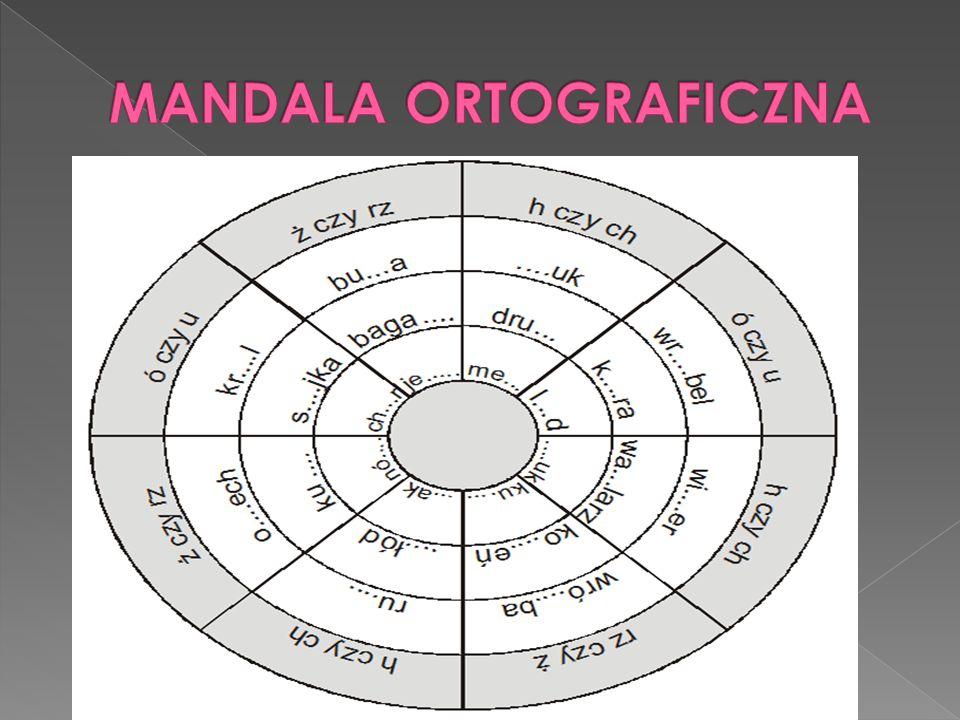 MANDALA ORTOGRAFICZNA